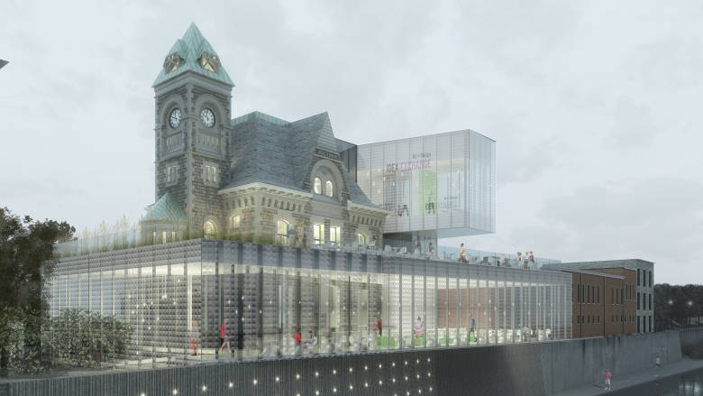 Old Post Office Library Project in Cambridge Nears Completion